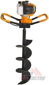 Бензобур Карвер 43 Ф100,150,200,250,300 мм + Удлинитель 500 мм, 1000 мм